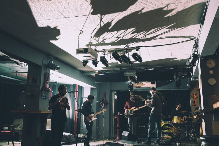 Echo Basement Rehearsal